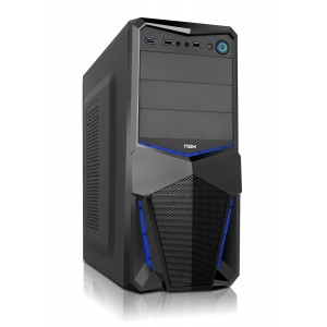 NOX Pax Blue Edition USB 3.0 Caja PC Reacondicionado