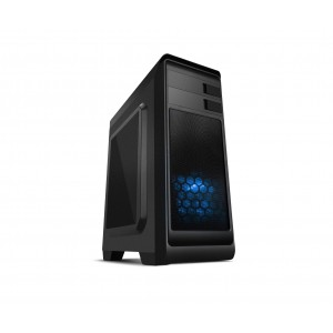 NOX Modus Blue Edition USB 3.0 Caja PC Reacondicionado