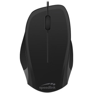 Speedlink LEDGY Mouse - USB, Silent, black-black
