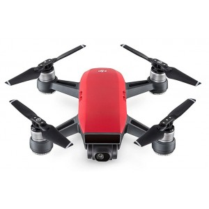 DJI Spark Fly More Combo EU Lava Red  Dron Reacondicionado