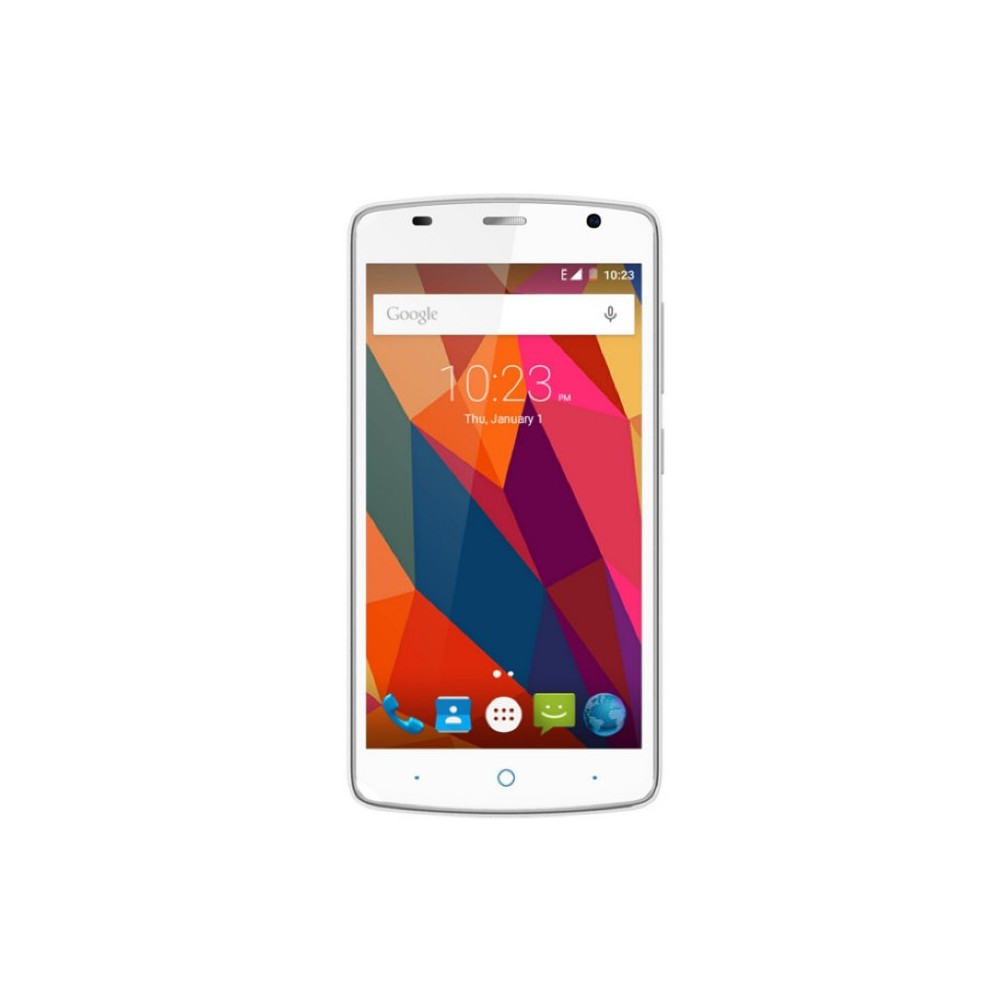 ZTE Blade L5 Plus 5 HD QuadCore 1GB 8GB 8Mpx Blanco Reacondicionado
