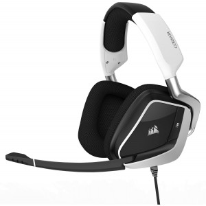 Corsair Void Pro RGB USB Auriculares Gaming 7.1 Blanco Reacondicionado