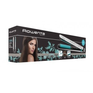Rowenta Plancha de pelo Basic Stright Aqua Collection SF1511F0