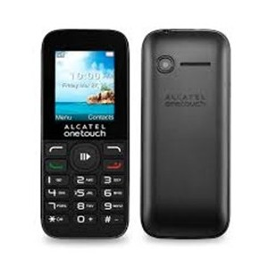 Alcatel OneTouch 1050D 1.8 Dual SIM Black Reacondicionado