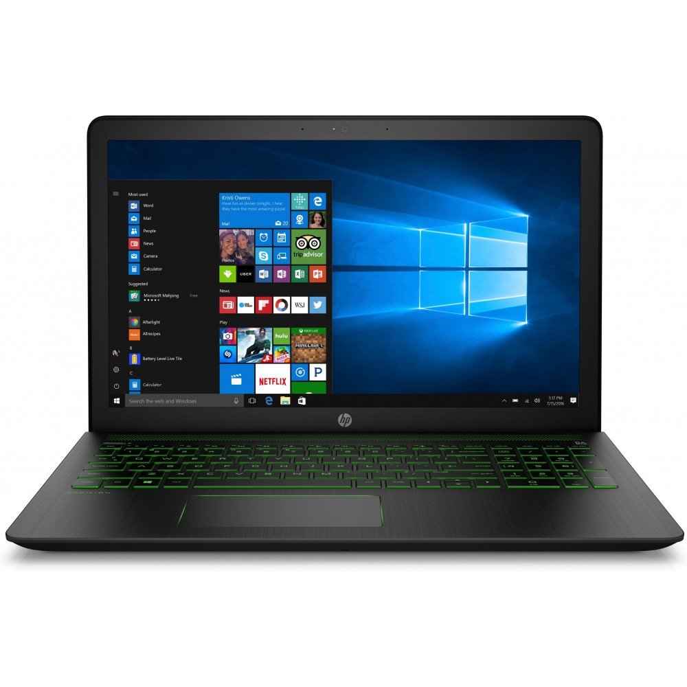 HP Pavilion Power 15-cb005ns i7-7700HQ 8GB 1TB 15.6 GTX 1050 W10 Marcas de Uso Reacondicionado