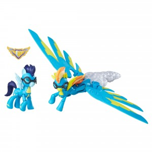 Hasbro My Little Pony B6011EU4, Juego Sonic Boom de Guardians of Harmony Wonderbolts