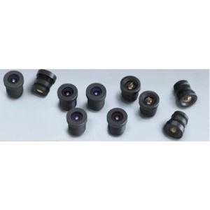 Axis Lens M12 MP 6mm 10 Pack Negro Reacondicionado