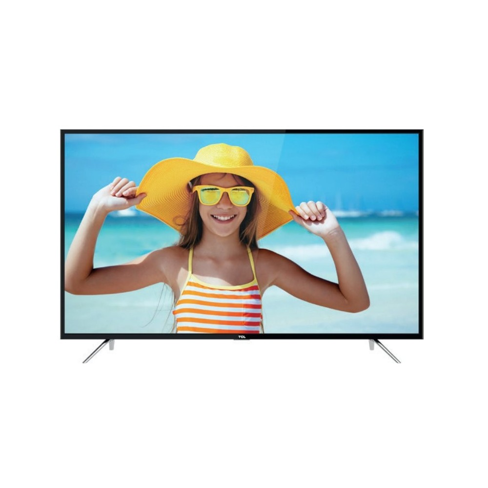 TCL U55P6066 55 LED 4K UHD Smart TV polvo y pixel en pantalla Reacondicionado