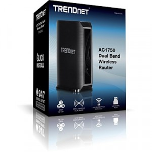 TRENDnet TEW-823DRU - Router Wireless de Banda Dual AC1750