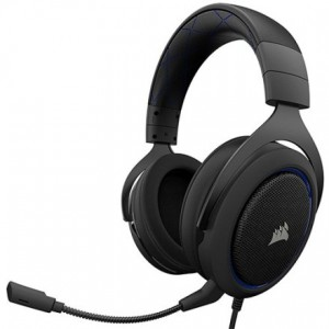 Corsair HS50 Auriculares Gaming Azul Reacondicionado