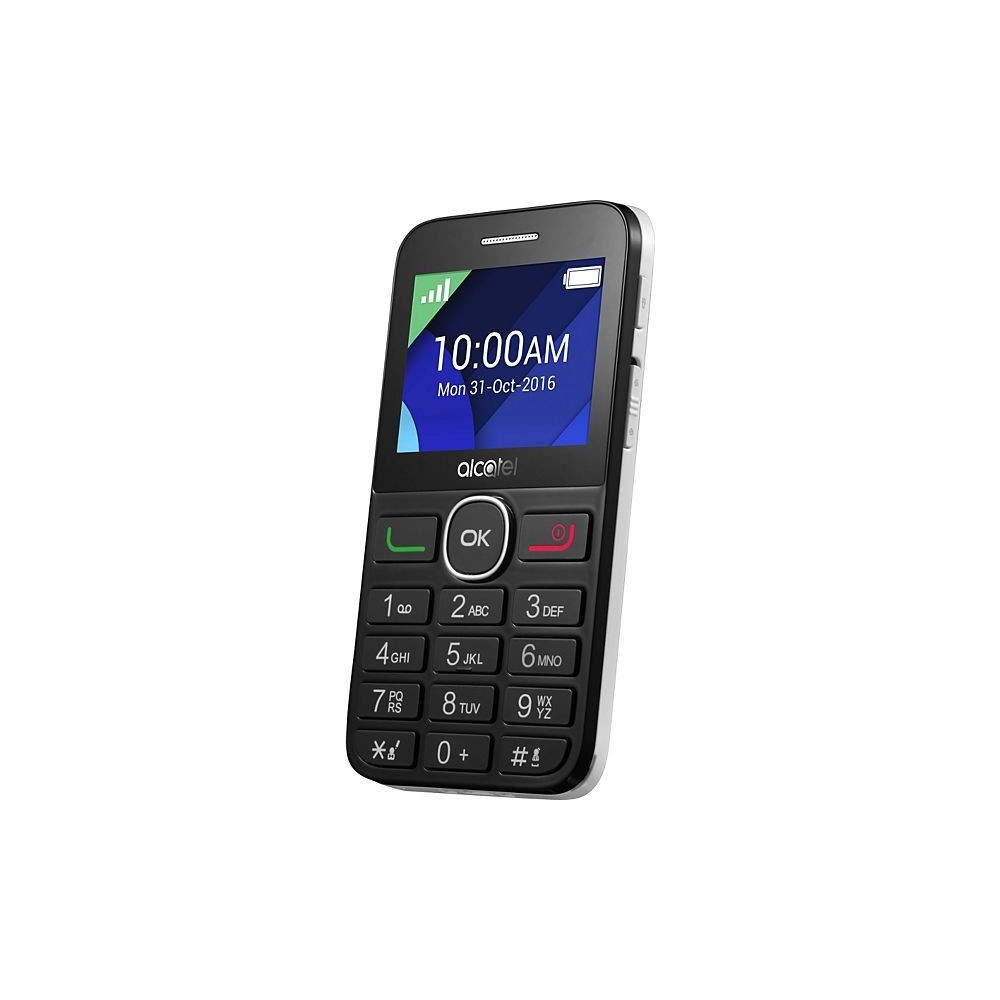 Alcatel 2008G 8MB 16MB Negro Blanco Reacondicionado