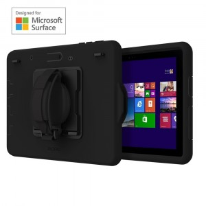 Incipio Capture Negro - Fundas para Tablets (Microsoft, Surface Go, Negro)