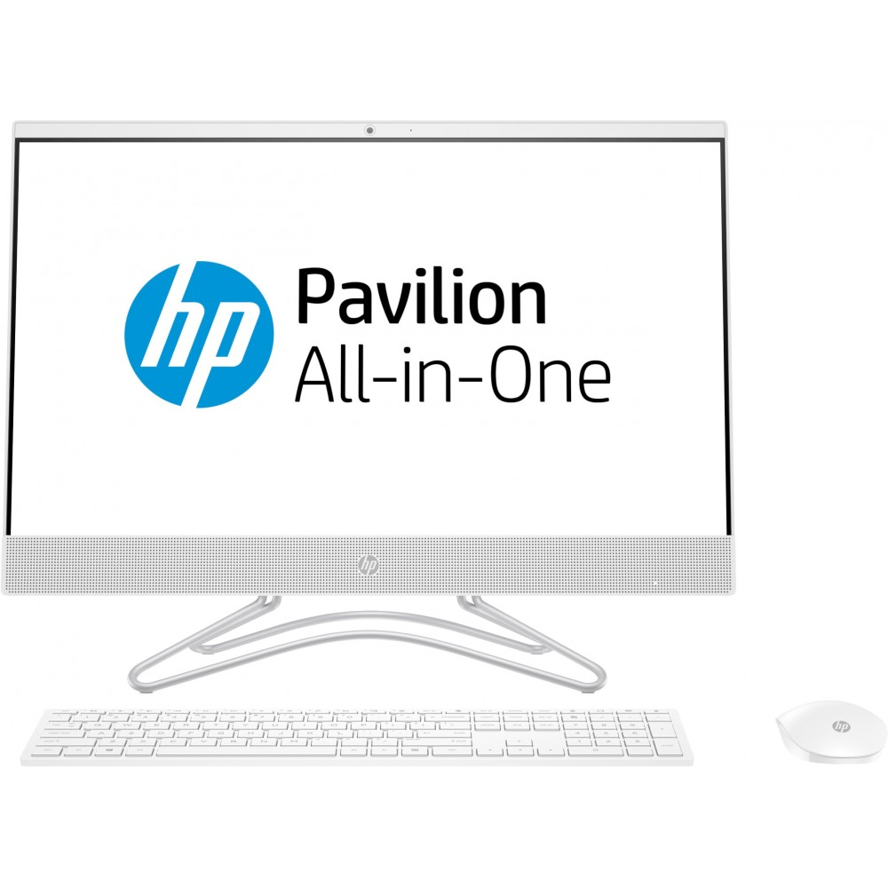HP 24-f0004nj i5-8250U 8GB 256SSD 23.8 MX110 FreeDOS AIO Marcas de Uso Reacondicionado