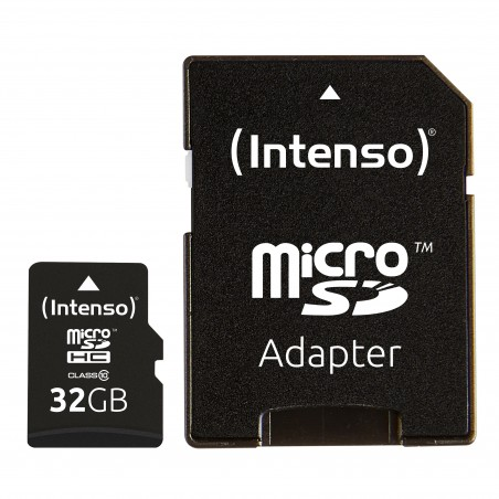 Intenso 3413480 Micro SD Card Class 10 32GB SDHC Negro