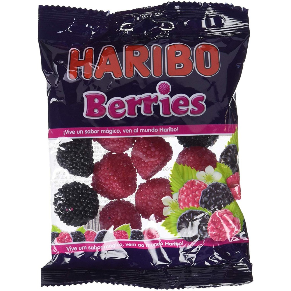 Haribo Berries - 100 g (Pack of 18)