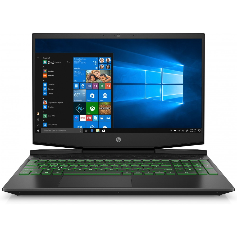 HP Pavilion Gaming Laptop15-dk0003ns i7-9750H 8GB 512SSD 15.6 GTX 1650 W10 Reacondicionado