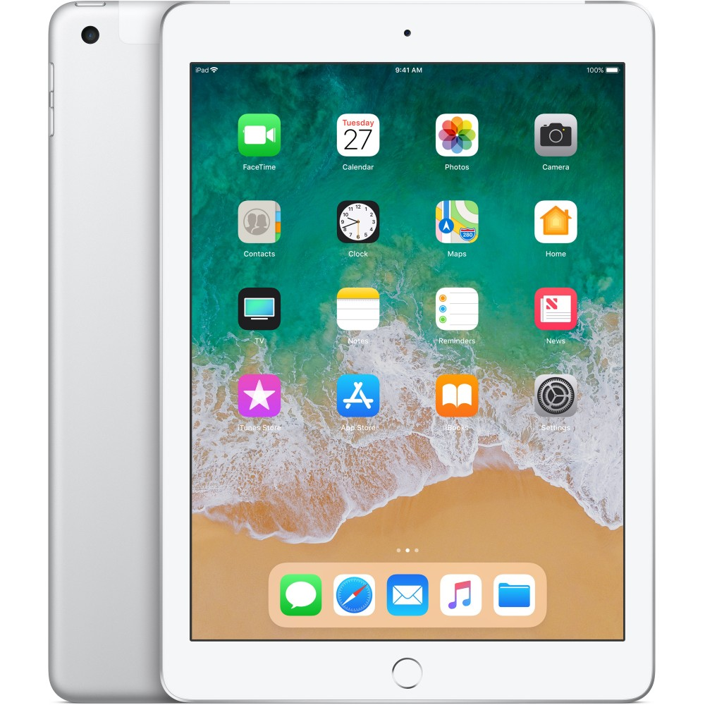 Apple iPad 2018 32GB Silver Reacondicionado