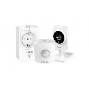 D-Link DCH-100KT Smart Home HD Starter Kit Caja Abierta
