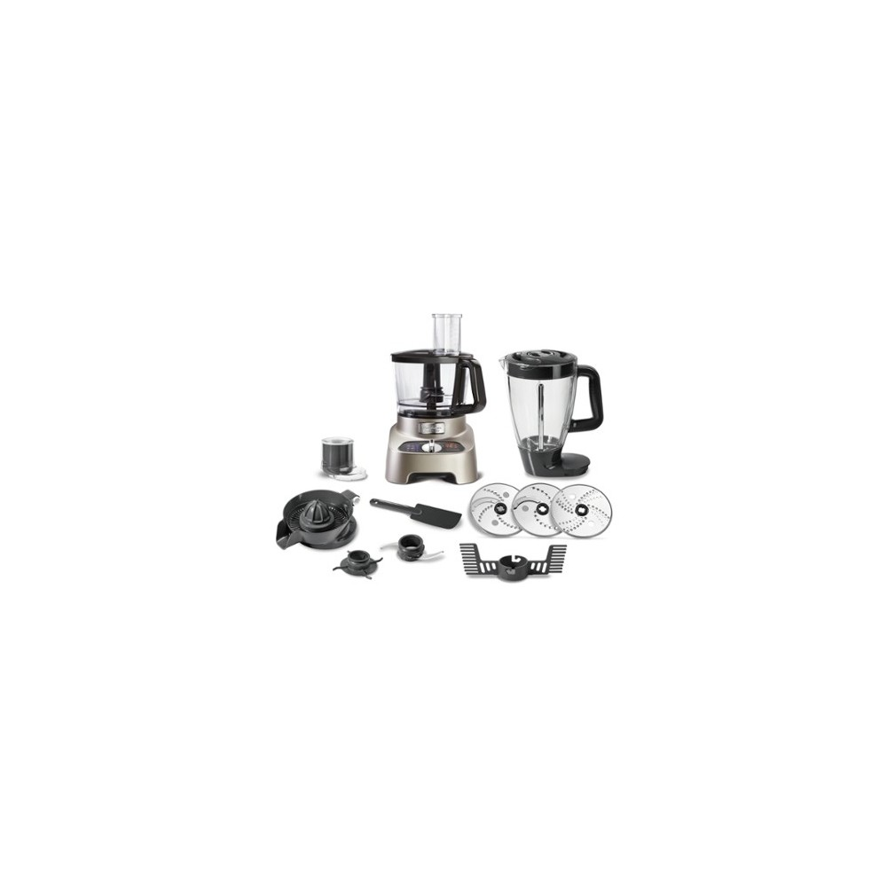 Moulinex FP824H10 Robot de Cocina Double Force 1000W 3L Reacondicionado