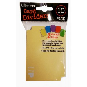 Card Dividers - (10)