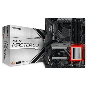 Placa Base AsRock AM4 X470 Master SLI Reacondicionado
