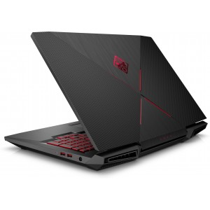 HP Omen 17-AN105NS i7-8750H 32GB 1TB 512SSD GTX1070 17.3 W10 Polvo en pantalla Reacondicionado