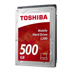 Toshiba L200 2.5 500GB SATA 5400 RPM HDD Reacondicionado