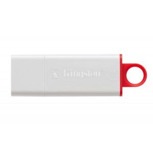 Kingston DataTraveler - Memoria USB 3.0, 32 GB, color blanco rojo
