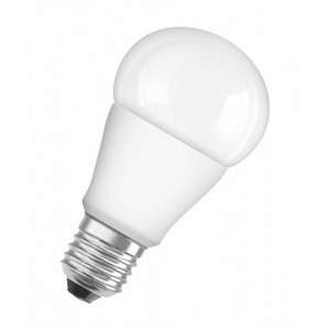 Osram Star Classic A Lámpara LED E27, 8 W, Blanco