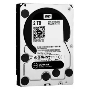 Western Digital Black WD2003FZEX Disco Duro de 2 TB 3.5 Reacondicionado