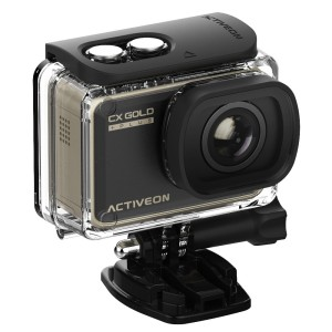Activeon CX GOLD PLUS GCB10W Cámara de acción deportiva 1080p Reacondicionado