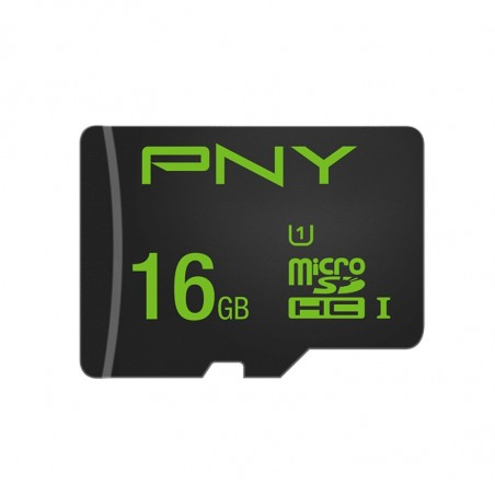 PNY High Performance Tarjeta de Memoria MicroSDHC 16 GB