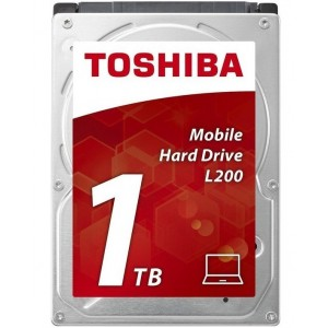 Toshiba L200 2.5 1TB 5400RPM SATA2 Disco Duro Interno Reacondicionado