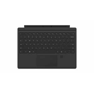 Microsoft Surface Pro Type Cover teclado QWERTY Negro Microsoft Cover port Caja Abierta