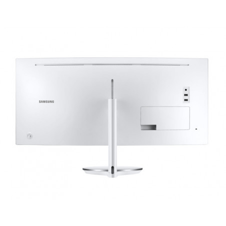 Samsung LC34J791WTUXEN 34 LED UWQHD VA 4ms 100Hz Flicker-Free (Sin cable Thunderbolt 3,HDMI ni VESA) Reacondicionado