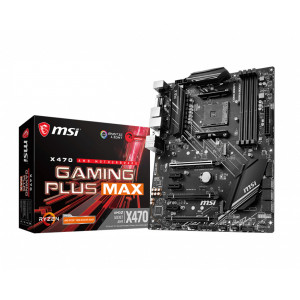 MSI X470 Gaming Plus Max Placa Base Caja Abierta
