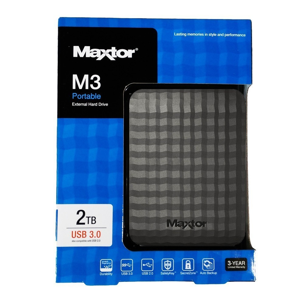 SAMS - MAXTOR 2TB PORTABLE HD 2.5 USB 3.0