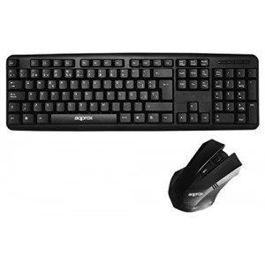 STANDAR USB KEYBOARD ECO + OPTICAL MOUSE