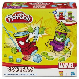 PLAYDOH MARVEL BOTES