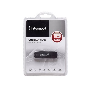 Intenso USB Drive 2.0 16GB Rainbow Line
