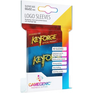 KeyForge Blue Logo Sleeves ML