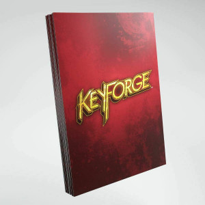 KeyForge Red Logo sleeves ML