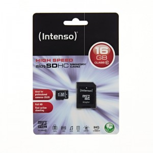 MCRO SD CARD INTENSO CLASS 10 16GB