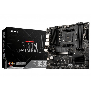 MSI B550M PRO-VDH WIFI Placa Base Reacondicionado