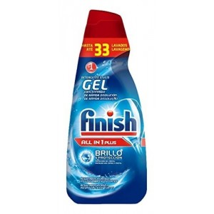 FINISH DET GEL (DUPLO 33+33) 660 ML