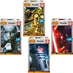 EDUCA PUZZLE STAR WARS 100