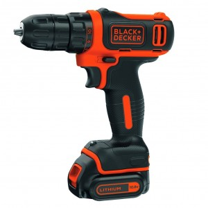 Taladro Black and Decker atornillador sin cable 10.8V 1.5Ah Litio REFURBISHED