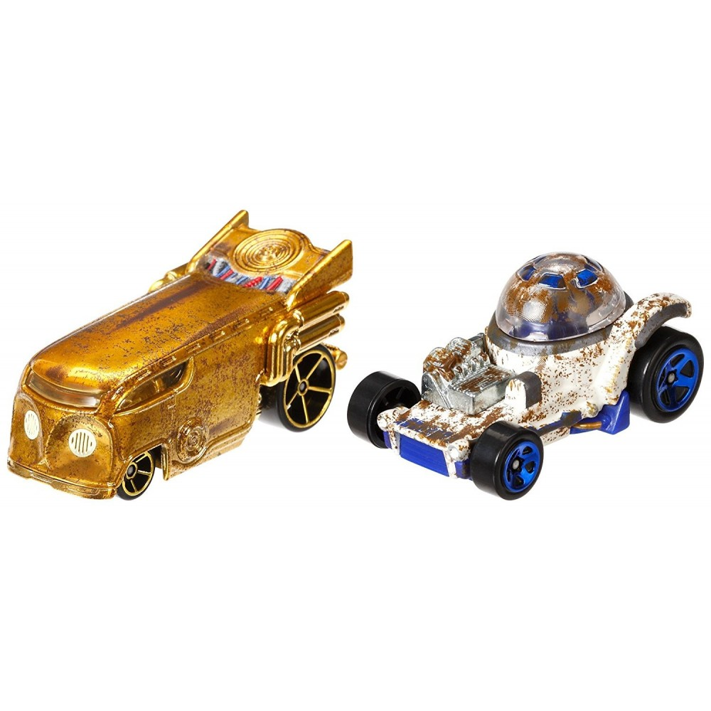 Hot Wheels Pack 2 Coches Star Wars...