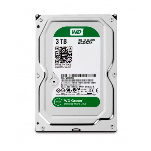 Western Digital WD Caviar Green 3000GB SATA disco duro interno Reacondicionado
