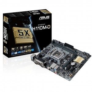 Placa Base Micro ATX H110M-D - DDR4 Reacondicionado
